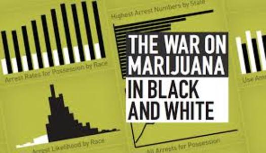 Graphic: The ACLU finds African Americans in Virginia are three times as likely as white people to be arrested for marijuana possession.