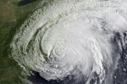 Photo: Hurricane Irene made landfall on the coast of North Carolina as a Category 1 storm during the 2011 season. Courtesy Energy.gov