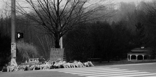 PHOTO: Today is the sixth month anniversary of the shooting rampage at Sandy Hook Elementary in Newtown, Connecticut. CREDIT: Claudia Sims Photography