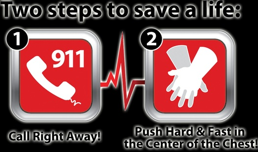 Learning Hands-Only CPR is easy, and could help you save someone's life!