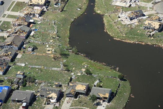 PHOTO: Pentagon official discusses impact of events linked to climate change, like tornado destruction in Moore, Okla. Photo credit: U.S. Air Force, Tech. Sgt. Bradley C. Church