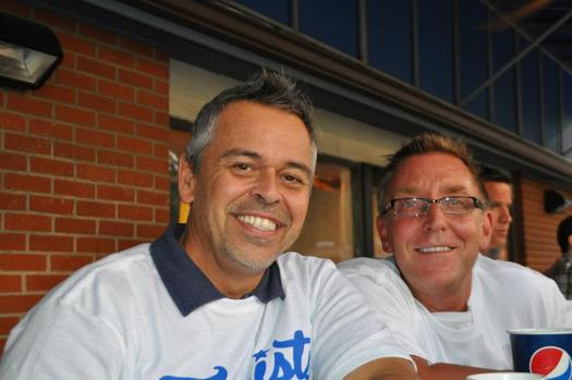 Photo: Bobby Hill and Mark Arrington (L to R) have been together for 28 years. Courtesy: Arrington