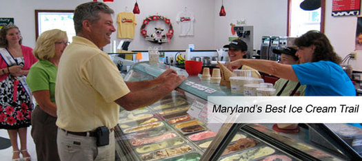 PHOTO: The Maryland Department of Agriculture is promoting local dairy farms that make their own ice cream. PHOTO CREDIT: MDA