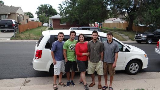 PHOTO: Maite Arce y su familia viajan hasta el 21 de julio con quatro parques nacionales.
