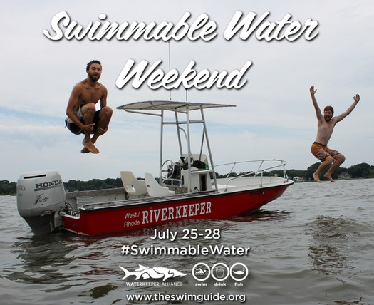 PHOTO: Riverkeepers in Maryland and around the world are testing the waters for Swimmable Water Weekend, a global event to raise awareness of water quality and the impact of pollution. Photo credit: theswimguide.org