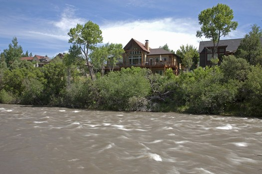 PHOTO: What's a scenic river view worth? A lot less if there is less river to view, according to a new survey of real estate professionals in Colorado, Arizona and New Mexico. Photo credit: Jonathan Waterman.
