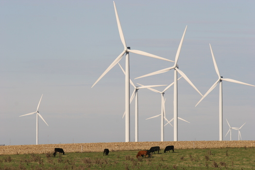 Wisconsin lags behind neighboring states in developing wind power.