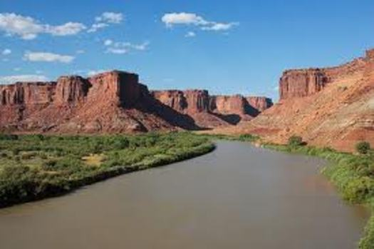 PHOTO: The Green River is one of the two major Utah tributaries of the Colorado. Courtesy of Wikipedia.