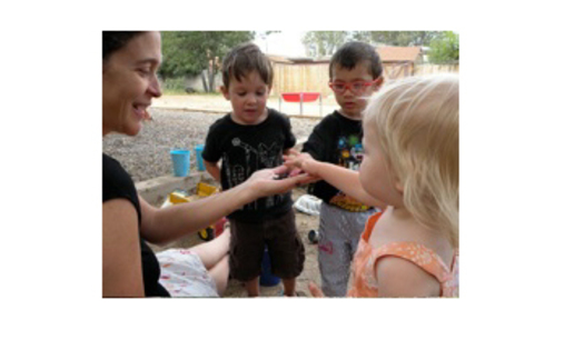PHOTO: These Santa Fe children are involved in early learning at a family childcare home.<br />Courtesy of TEACH Early Childhood, a project of NM Assn. for the Education of Young Children.<br />