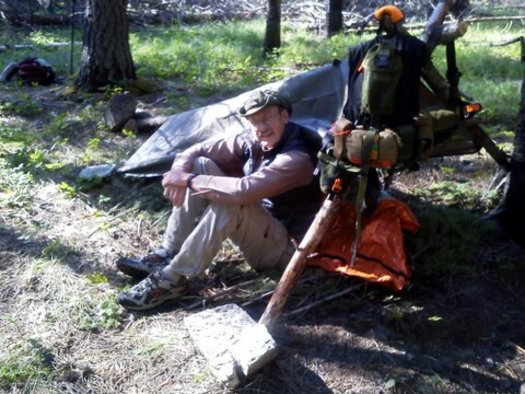 PHOTO: Reality shows and the zombie-apocalypse trend are leading folks down the wrong path when it comes to survival skills, according to Michael Jarnevic (JAR-neh-vick), an Army Special Forces medic who teaches survival classes, most recently for the Sierra Club. Photo courtesy of Jarnevic