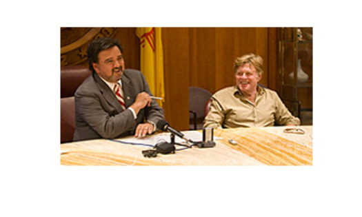 PHOTO: Former NM governor Bill Richardson and actor Robert Redford. They have formed the Foundation to Protect New Mexico Wildlife and have joined the H-S-U-S and Front Range Equine Rescue suit to block the revival of American horse slaughter.Courtesy: The Foundation to Protect New Mexico Wildlife.