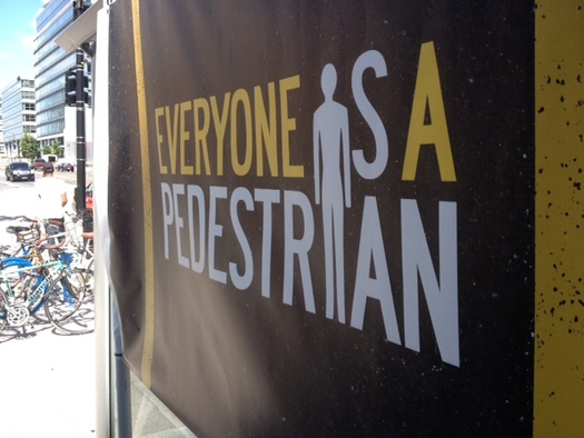 PHOTO: The federal Department of Transportation is launching a new campaign to encourage pedestrian safety.