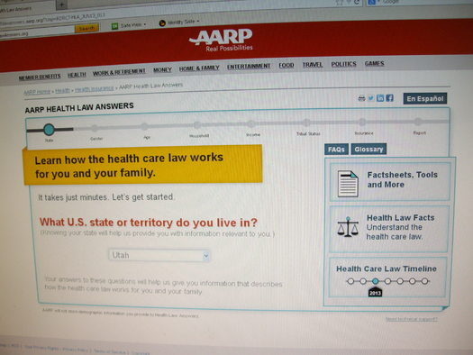 PHOTO: The website HealthLawAnswers.org asks seven questions to produce a report on possible effects of health care reform for an individual or family. Photo credit: Chris Thomas