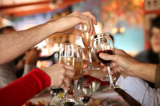 PHOTO: Would you toast if you knew that the costs associated with excessive drinking top $8 billion in Michigan in a single year � many of them borne by state government? Photo credit: Microsoft Images
