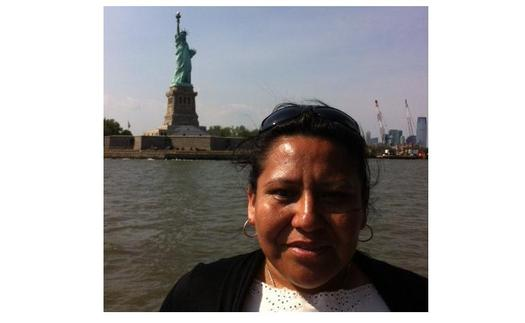 PHOTO: Leticia Reta is an undocumented immigrant living in the United States. She says for many years she was married to a man who beat her, but was afraid to leave because he threatened to have her deported. PHOTO courtesy of Reta.