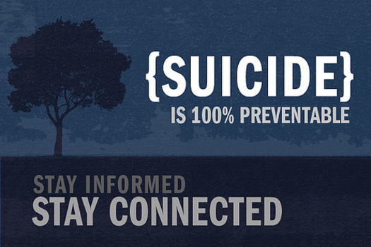 PHOTO: September is Suicide Prevention Awareness Month, and Iowa is following a tragic national trend of increased suicides. Image credit: MilitaryHealth