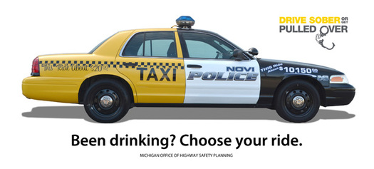 PHOTO: Mothers Against Drunk Driving says high visibility law enforcement campaigns are a proven deterrent against drunk driving. The 'Drive Sober or Get Pulled Over' campaign runs through Labor Day Weekend. Photo credit: State of Michigan