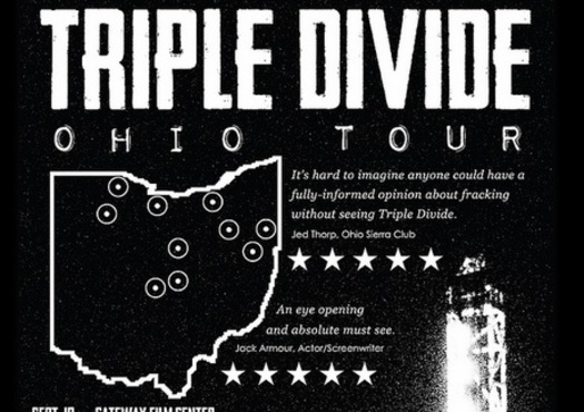 IMAGE: A documentary making its debut in Ohio today paints a picture of what could happen in the Buckeye State as the result of hydraulic fracturing, or fracking. Image: Film tour poster.