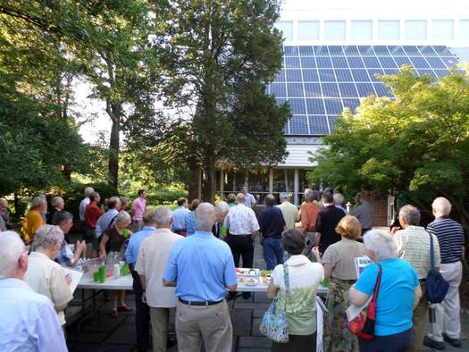 "PHOTO: Faith communities across the state are learning about the benefits of ""going solar."" Photo credit: VA Interfaith Power and Light"