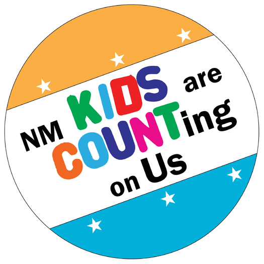 According to the Annie E. Casey Foundation Kids Count Data Book, child well-being in New Mexico has fallen to last place. Advocates are looking at what can be done to improve child security in the state.GRAPHIC: Kids Are Counting on Us logo. Courtesy: NM Voices for Children.