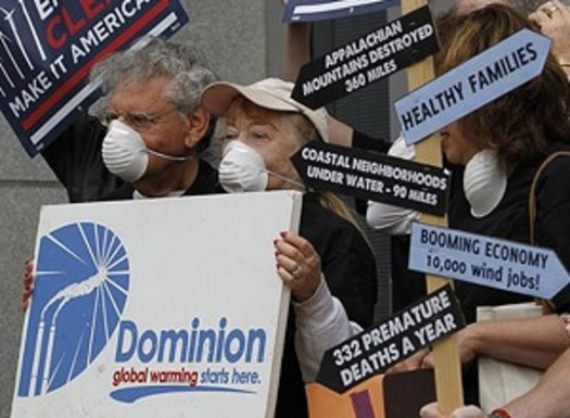 PHOTO: Environmental groups in Virginia have been calling for strict rules on carbon emissions. Photo credit: vasierraclub.org