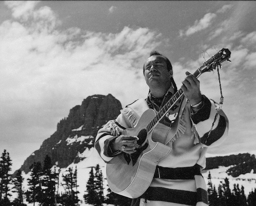PHOTO: Blackfeet Nation Troubadour Jack Gladstone is part of a group seeking to get involved in a lawsuit over drilling in the Badger-Two Medicine region. Photo courtesy of Gladstone.