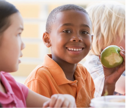 It's easier for low-income children in high-poverty Boston public schools to get free meals this year. The program hopes to remove the stigma sometimes attached to students who are fed free breakfasts and lunches. Photo courtesy FRAC.