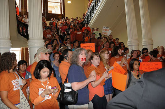 PHOTO: A lawsuit has been filed seeking an immediate injunction to prevent new Texas abortion restrictions from becoming law on October 29th. CREDIT: Ann Harkness