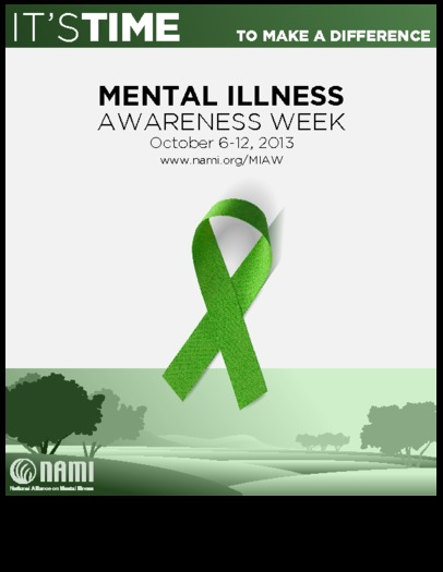 GRAPHIC: Mental Illness Awareness Week runs through the 12th, to erase stigmas and emphasize that treatment can be successful. Poster courtesy of NAMI
