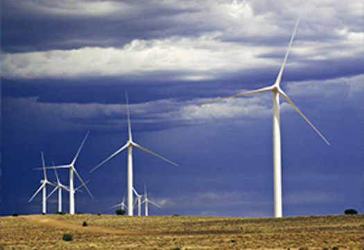 PHOTO: Wind industry advocates, companies, developers and political leaders gathered in Denver Tuesday to highlight the success of wind energy, its impact on reducing climate change, and the growth potential associated with future investments.