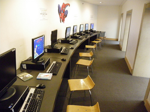 Libraries in Utah are adapting to the Internet age in many ways. Image of Salt Lake Public Library by Ellen Forsyth.