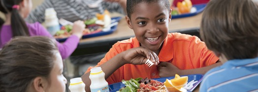 PHOTO: A federal initiative called the Community Eligibility Option would ensure students that live in communities with high poverty could get their meals at school for free - with no application and no worry.  Photo credit: USDA.GOV