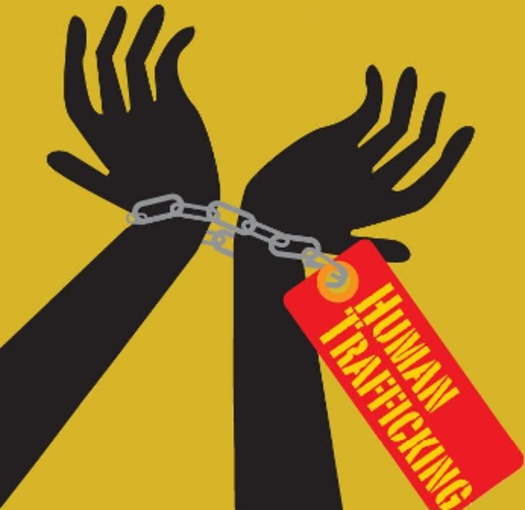 ILLUSTRATION: Human trafficking, said to be the third most profitable criminal industry globally at an estimated $32 billion per year, is a problem in Connecticut, say experts and officials meeting on Sat. to share information and solutions. Courtesy LWVCT.