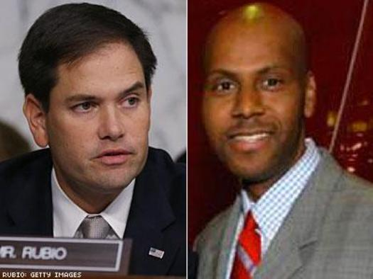 Photo: U.S. Senator Marco Rubio (L) and Judge Williams Thomas (R)