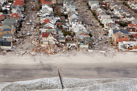 PHOTO: In Long Beach, one of the hardest-hit New York communities, the homeless and the displaced are still being helped, one year after Superstorm Sandy wreaked havoc. Courtesy Andrea Booher/FEMA.