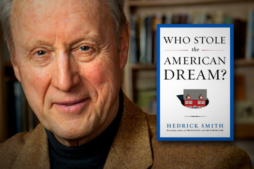 "Photo: Pulitzer Prize-winning author Hedrick Smith will be in the Granite State today (Thursday) talking about ""Who Sole the American Dream"" and putting 22 million Americans back to work."
