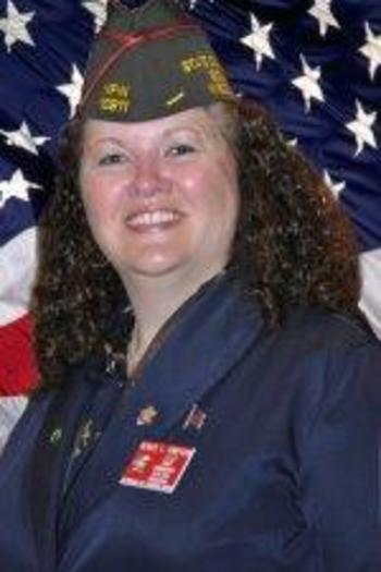 PHOTO: Wisconsin State VFW Commander Renee Simpson says SB 13 would be unfair to the many veterans who were exposed to asbestos because of their occupations in the military. Photo used with permission of Wisconsin VFW.