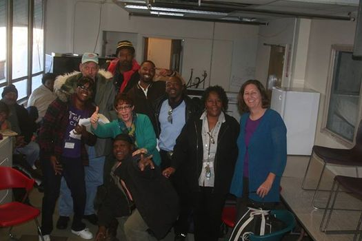 PHOTO: Clients prepare to move into the newly renovated reStart Inc. shelter, where they will no longer have to move out each morning and line up in hopes of receiving a spot. Photo courtesy of reStart Inc.