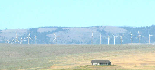 PHOTO: The wind energy industry has been growing consistently in Montana, and a new report from Environment Montana shows the benefits go beyond energy production. Photo credit: Deborah Smith