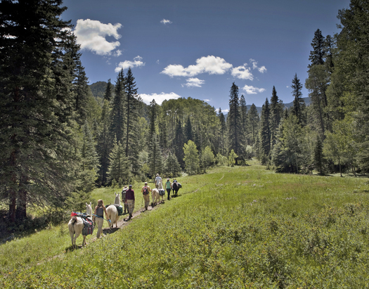 PHOTO: This week, a Congressional subcommittee holds a hearing on a bill to make the popular Columbine-Hondo Wilderness Study Area near Taos a federal wilderness area. Photo courtesy Sierra Club Rio Grande Chapter.