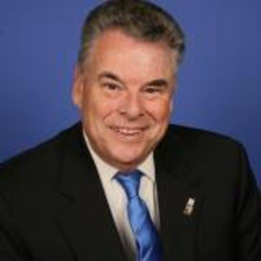 Photo: A new poll shows 85% of GOP voters in Rep. Peter King's district support it, and some are urging King to turn up the volume in his own support of comprehensive immigration reform. Photo courtesy Office of Rep. King.