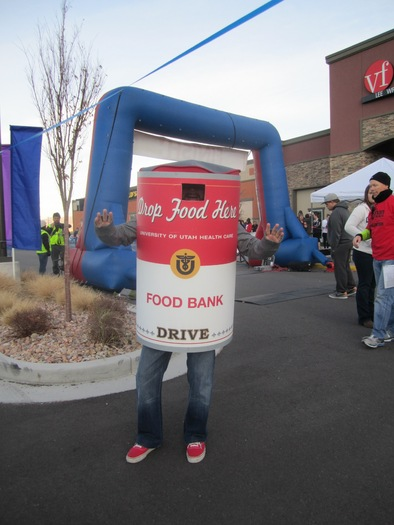 PHOTO: Dressing up like a turkey or a pilgrim and running ten kilometers is exactly what many folks in Salt Lake City have planned for Thanksgiving Day. Photo courtesy Utah Food Bank.