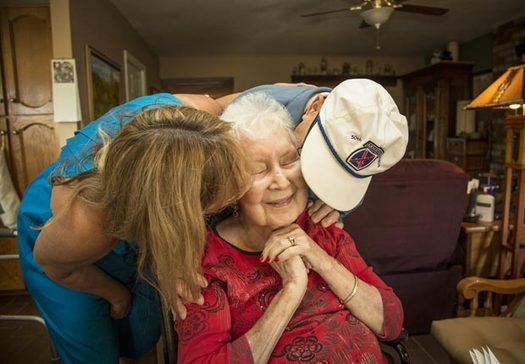PHOTO: AARP Maryland is calling for more training and help for caregivers in the state. Photo credit: AARP.ORG