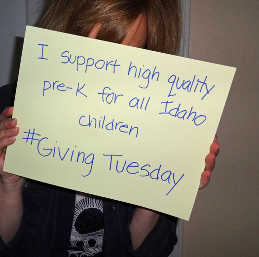 """PHOTO: Take an """"UNselfie"""" to help promote #GivingTuesday - and encourage others to donate time, goods or cash to a charity. Photo credit: Deborah C. Smith"""