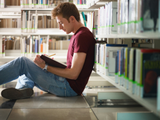 "PHOTO: Get lost in a book? It might be just the one to write about for ""Letters About Literature,"" a contest for students in 4th through 12th grades. Photo credit: iStockphoto.com."