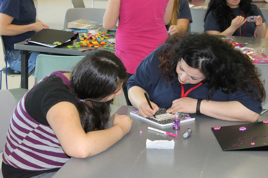 "PHOTO: At the Coffee Creek Correctional Facility, girls visit an incarcerated parent twice a month as part of ""Girl Scouts Beyond Bars,"" a unique troop that keeps moms and daughters in touch. Photo courtesy Girl Scouts of Oregon & Southwest Washington."