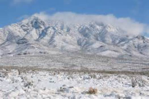 PHOTO: New Mexico's historic Organ Mountains-Desert Peaks area is being considered for National Monument designation. Photo courtesy of NASA.