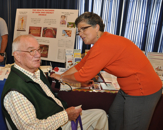 PHOTO: A new report from the Center for Rural Affairs says the Affordable Care Act has led to more health benefits for senior citizens, without any real additional requirements. Photo credit: Aberdeen Proving Ground