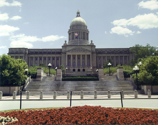 "PHOTO: As the 2014 legislative session begins at the state Capitol, a new report warns Kentucky will continue to travel down a path of ""retrenchment"" unless ways are found to generate new revenue."