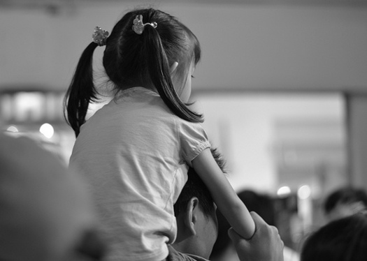 PHOTO: For many people the words 'discipline' and 'punishment' are interchangeable, and while both may lead to behavior change, one expert says there's a major difference in how each connects a parent and child. Photo credit: John Ragai